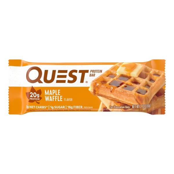 Quest Maple Waffle Protein Bar product image