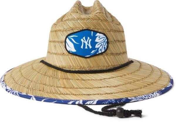 Reyn Spooner Men's New York Yankees Tan Aloha Straw Hat product image
