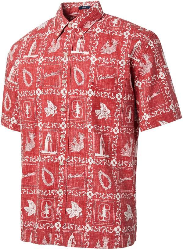 Reyn Spooner Men's Stanford Cardinal Classic Button-Down Cardinal Shirt product image