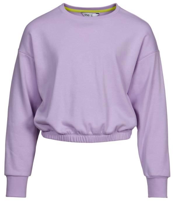 DSG Girls' Cinched Waist Crewneck Sweatshirt product image