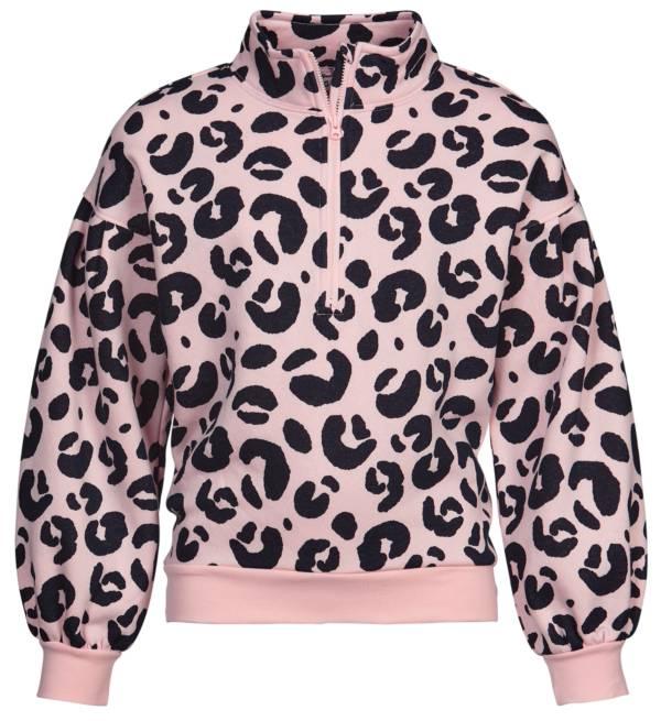 DSG Girls' Fleece 1/4 Zip Printed Jacket product image