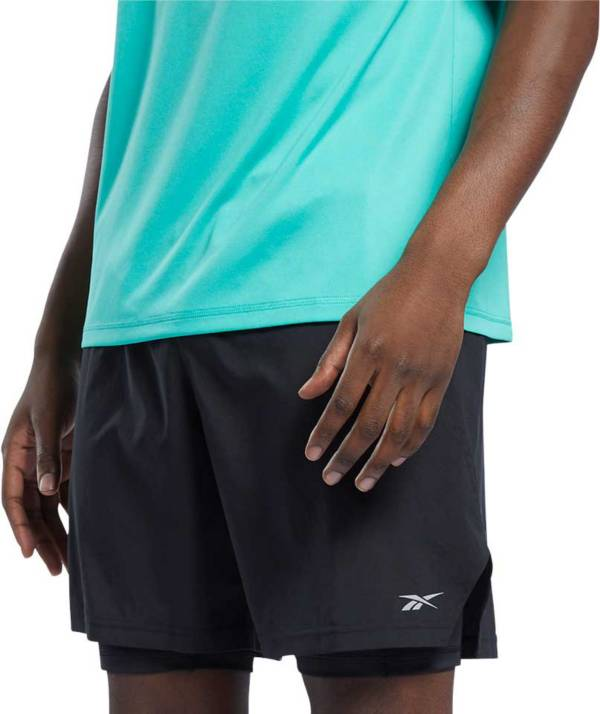 Reebok Men's Running Two-in-One Shorts product image