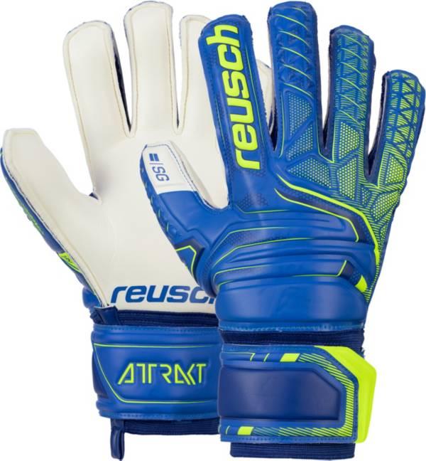 Reusch Adult Attrakt SG Finger Support Soccer Goalkeeper Gloves product image