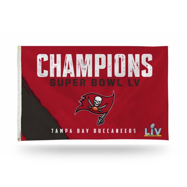Rico Super Bowl LV Champions Tampa Bay Buccaneers Banner Flag product image