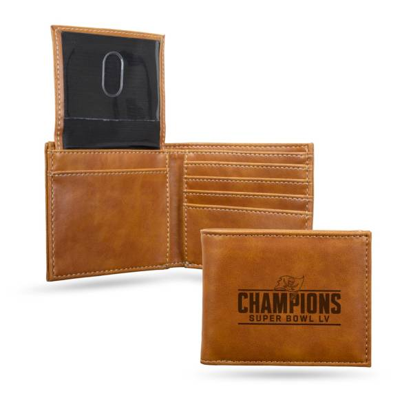 Rico Super Bowl LV Champions Tampa Bay Buccaneers Billfold Wallet product image