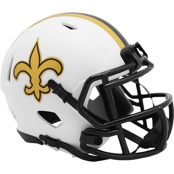 Riddell New Orleans Saints Eclipse Mini Helmet product image