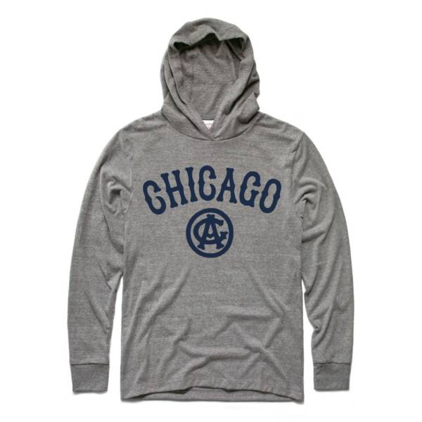 Charlie Hustle Chicago American Giants Grey Pullover Hoodie product image