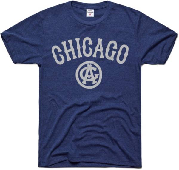 Charlie Hustle Chicago American Giants Navy Museum T-Shirt product image