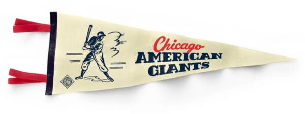 Charlie Hustle Chicago American Giants Museum White Pennant product image