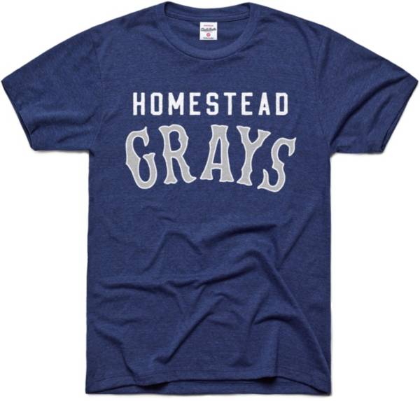 Charlie Hustle Homestead Grays Navy Museum T-Shirt product image