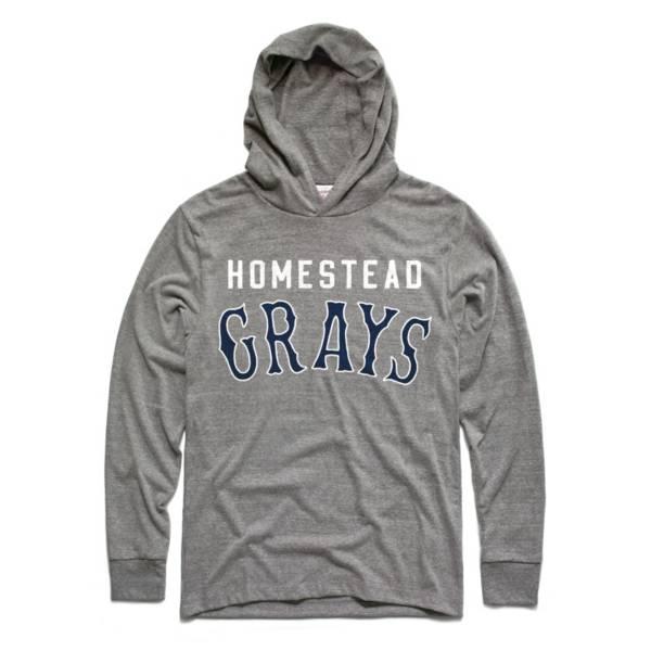 Charlie Hustle Homestead Grays Grey Pullover Hoodie product image