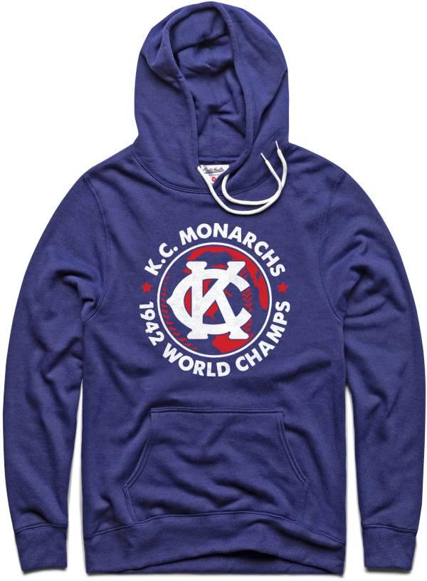 Charlie Hustle Kansas City Monarchs Navy Museum Hoodie product image