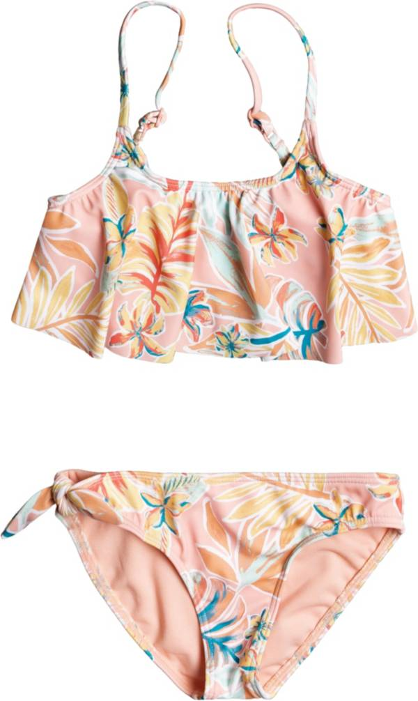 Roxy Toddler Girls' Friendly Story Flutter Two Piece Swimsuit product image