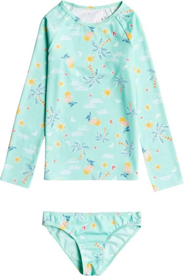 Roxy Toddler Girls' Mermaid Spirit Long Sleeve Rash Guard Set product image