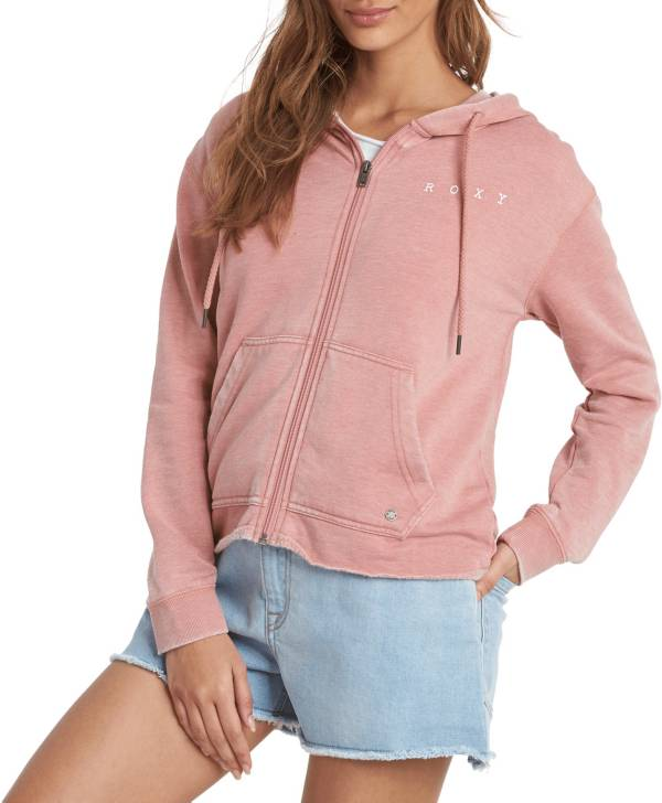 Roxy Women's Go For It A Zip-Up Hoodie product image