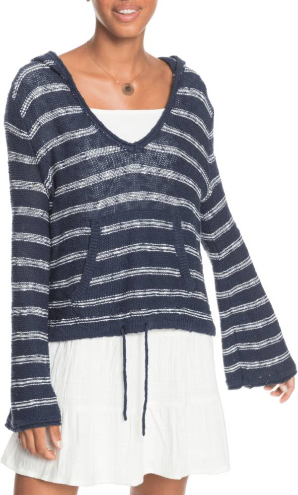 Roxy Women's Hang With You Hooded Poncho Sweater product image