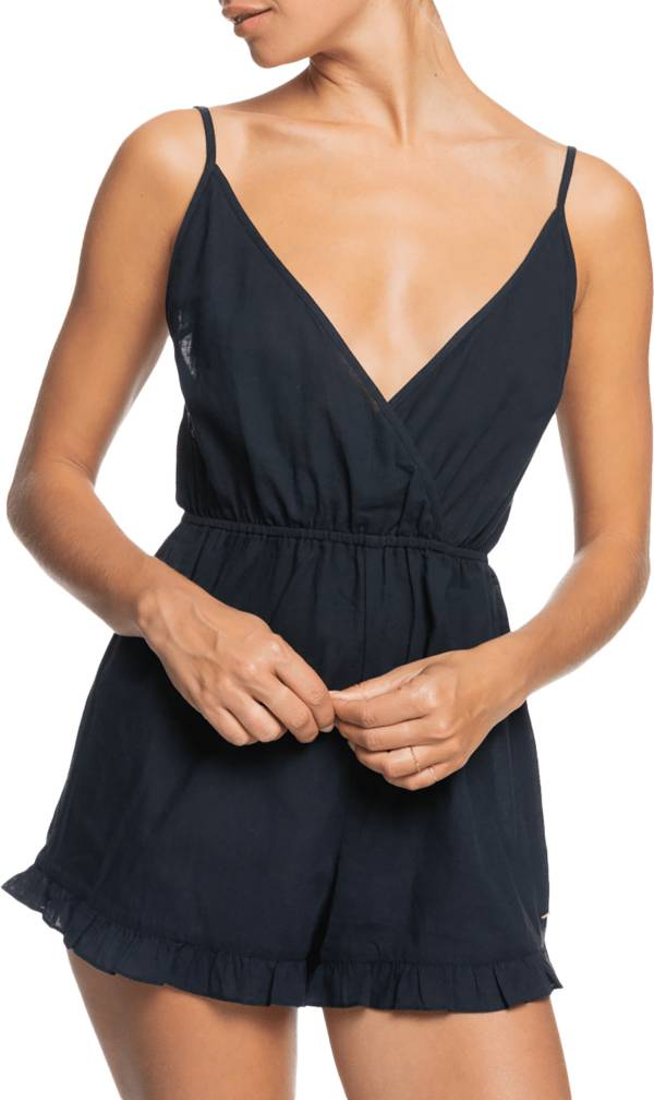Roxy Women's Honest Love Solid Beach Romper product image