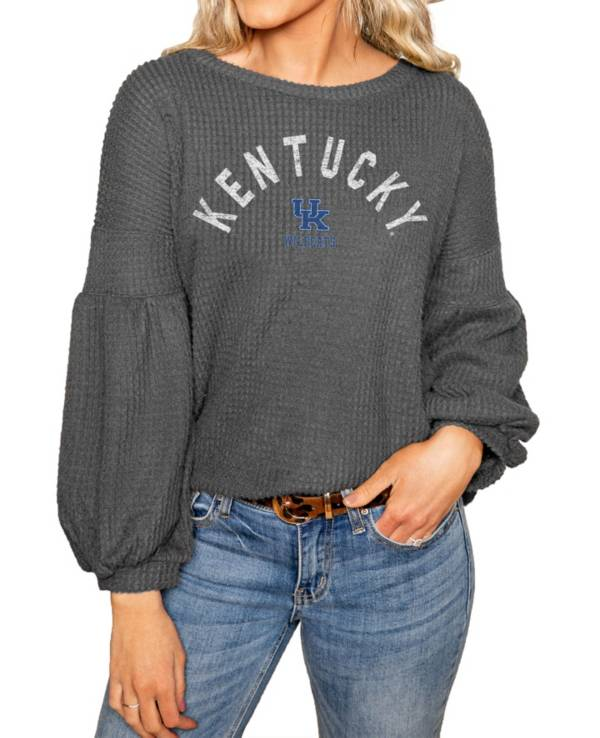 Gameday Couture Kentucky Wildcats Grey Bubble Long Sleeve Shirt product image