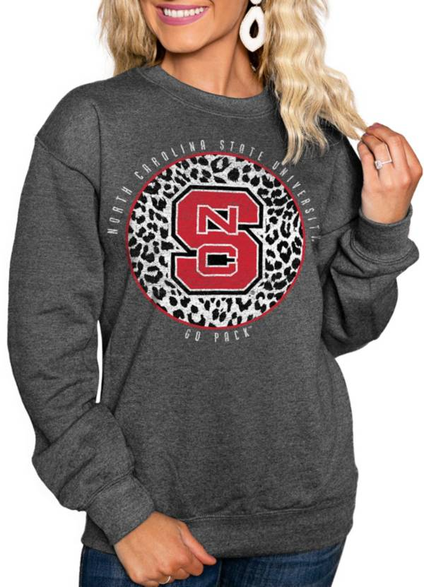 Gameday Couture Women's NC State Wolfpack Grey Cozy Crewneck Hoodie product image