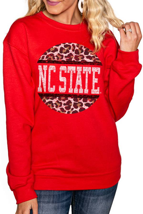 Gameday Couture Women's NC State Wolfpack Red Perfect Cozy Crew Pullover Sweatshirt product image