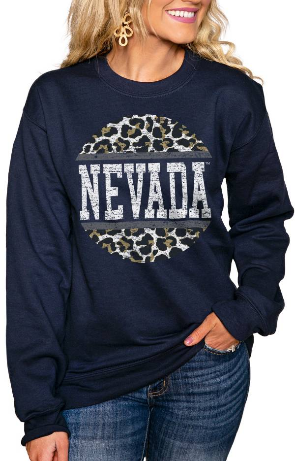 Gameday Couture Women's Nevada Wolf Pack Blue Perfect Cozy Crew Pullover Sweatshirt product image