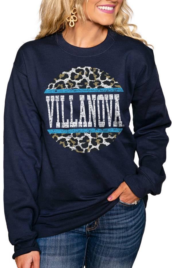 Gameday Couture Women's Villanova Wildcats Navy Perfect Cozy Crew Pullover Sweatshirt product image