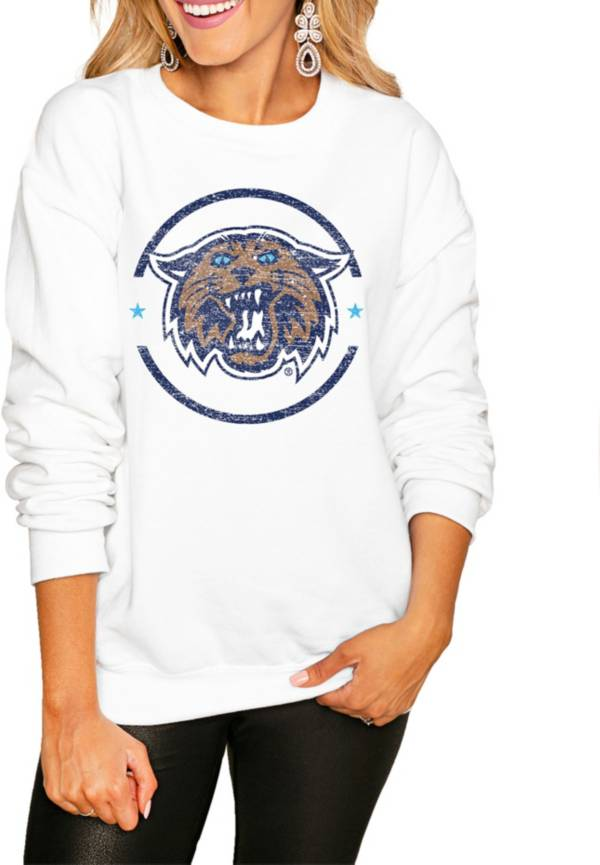 Gameday Couture Women's Villanova Wildcats White Perfect Cozy Crew Pullover Sweatshirt product image