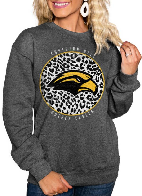 Gameday Couture Women's Southern Miss Golden Eagles Grey Cozy Crewneck Hoodie product image