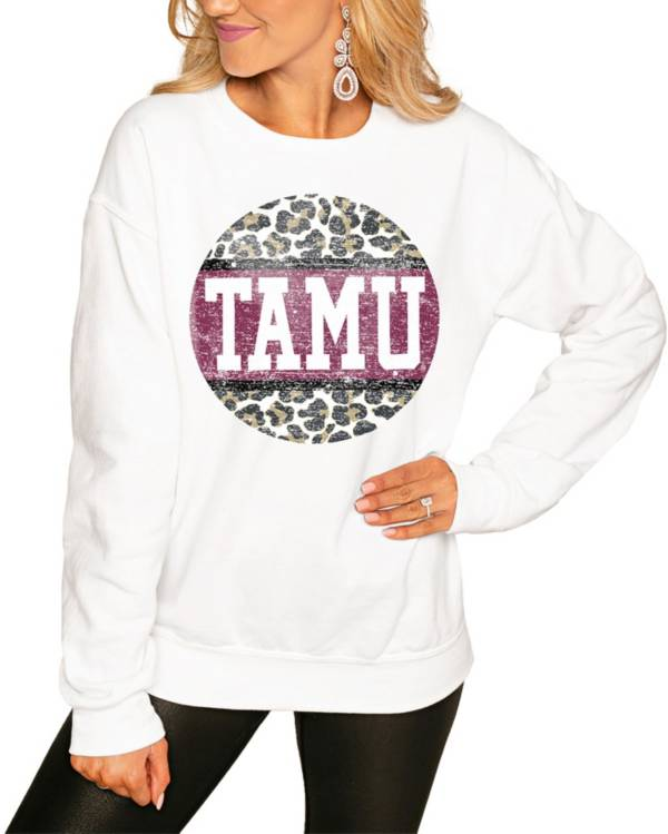 Gameday Couture Women's Texas A&M Aggies White Perfect Cozy Crew Pullover Sweatshirt product image