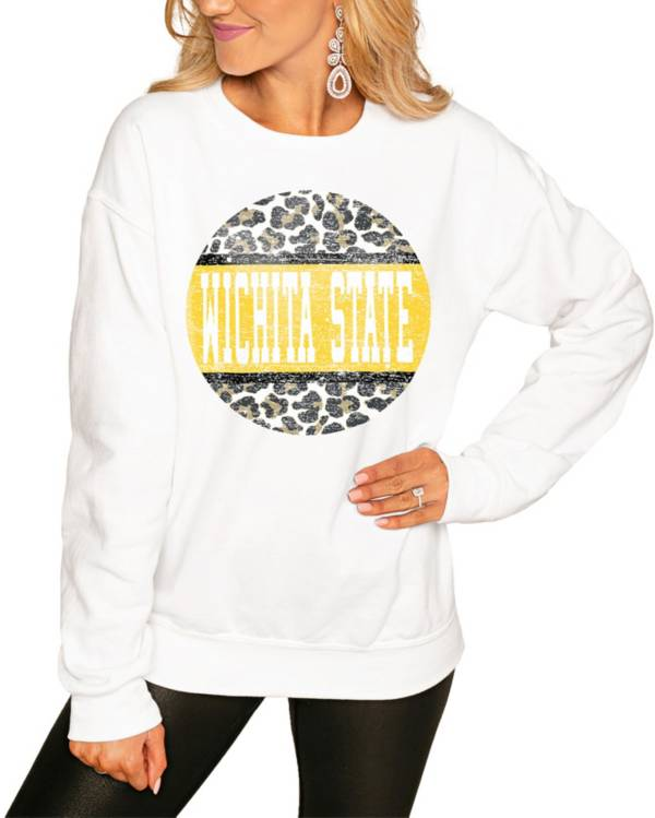 Gameday Couture Women's Wichita State Shockers White Perfect Cozy Crew Pullover Sweatshirt product image