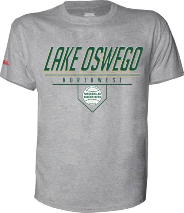 Stitches Men's 2021 Little League Baseball World Series Northwest Region Grey Runner Up T-Shirt product image
