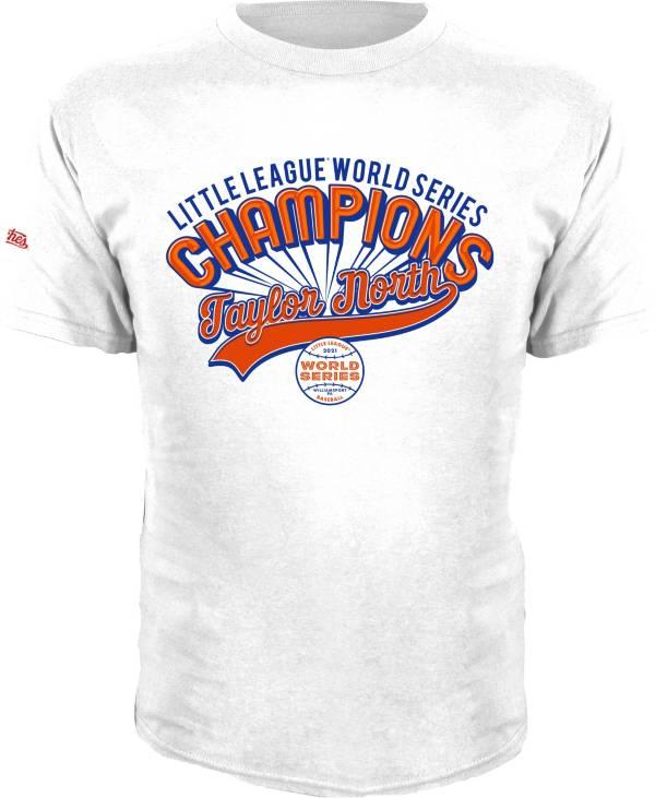 Stitches Men's Taylor Michigan 2021 Little League Baseball World Series Champions White T-Shirt product image