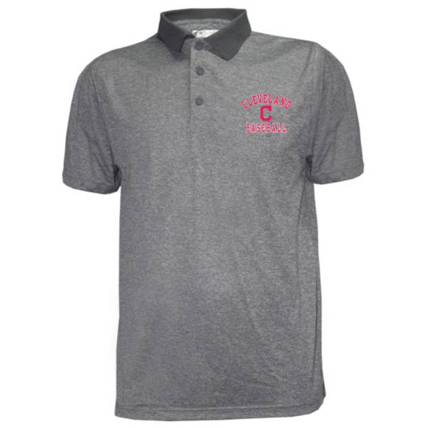 Stitches Men's Cleveland Indians Poly Polo product image