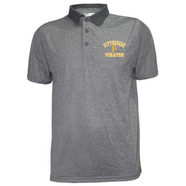 Stitches Men's Pittsburgh Pirates Poly Polo product image