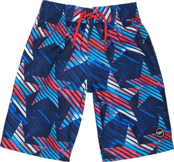 """Speedo Boy's Faster Floral 17"""" Board Shorts product image"""