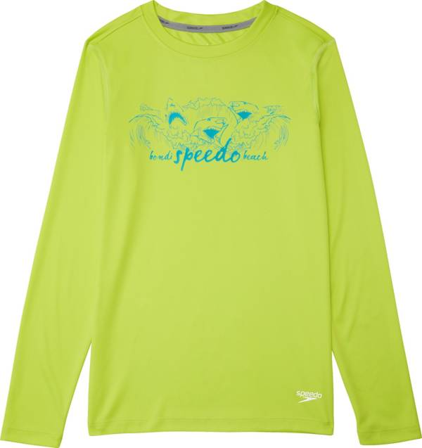 Speedo Boy's Long Sleeve Graphic Swim Shirt product image