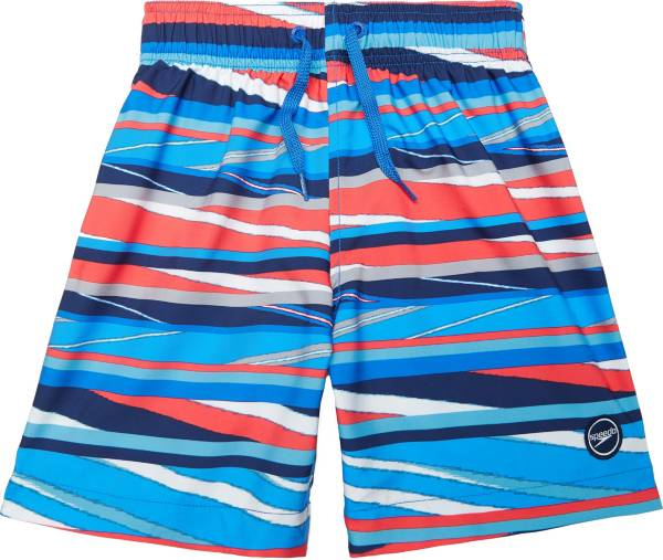 "Speedo Boy's Party Pattern Redondo 15"" Volley Swim Trunks product image"