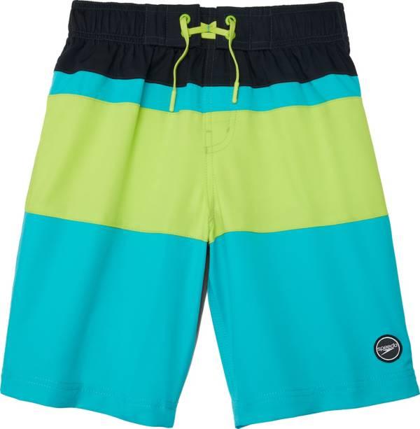 """Speedo Boy's Solid Blocked 17"""" Boardshorts product image"""