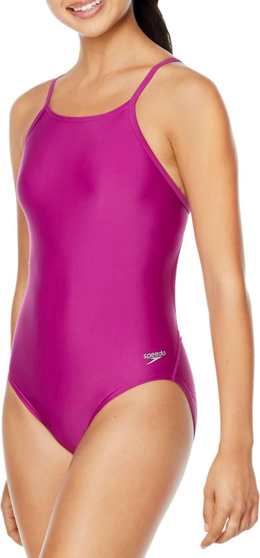 Speedo Women's Solid Flyer One Piece Swimsuit product image