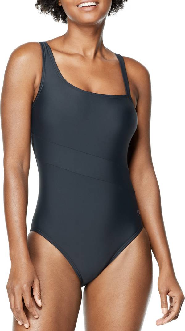 Speedo Women's Asymmetric One Piece Swimsuit product image