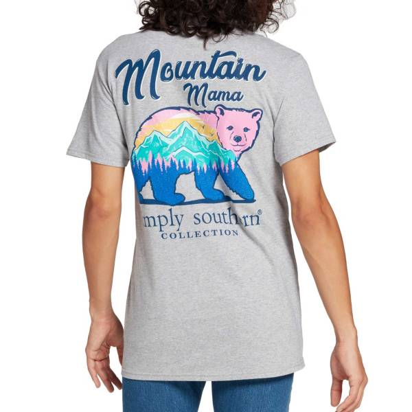 Simply Southern Women's Mountain Bear Graphic T-Shirt product image