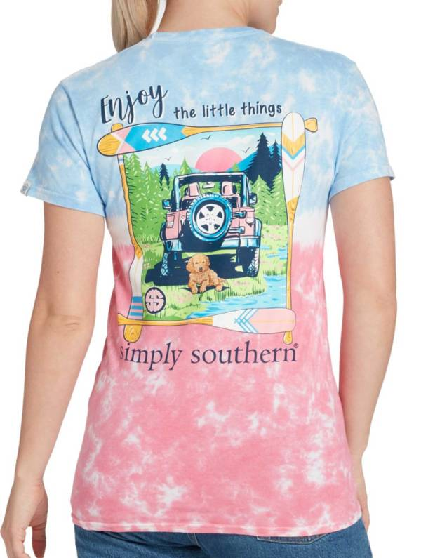 Simply Southern Women's Enjoy Short Sleeve Graphic T-shirt product image