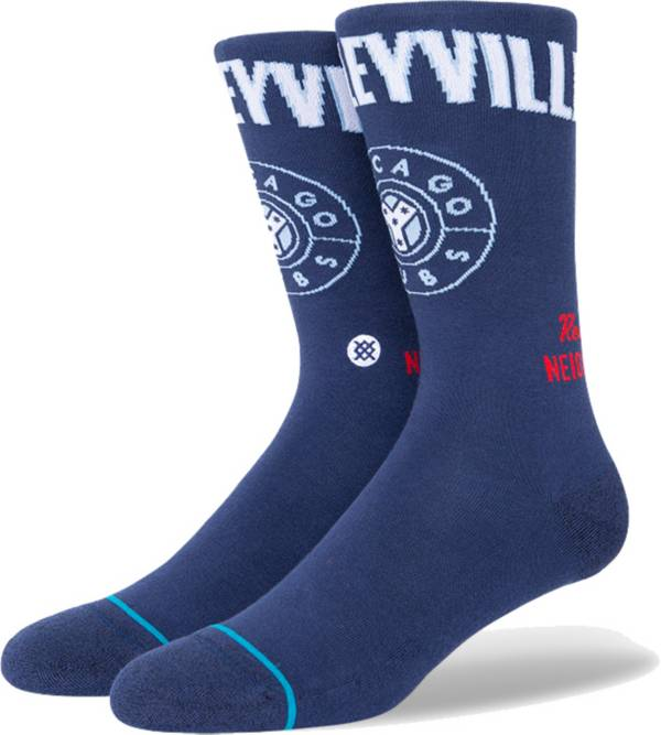Stance Men's Chicago Cubs Navy 2021 City Connect Crew Socks product image