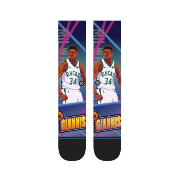Stance Milwaukee Bucks Giannis Antetokounmpo Fast Break Crew Socks product image
