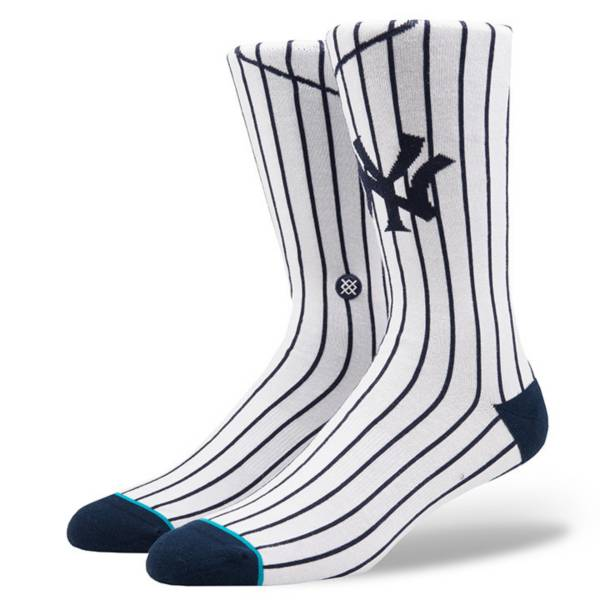 Stance Men's New York Yankees White Crew Socks product image