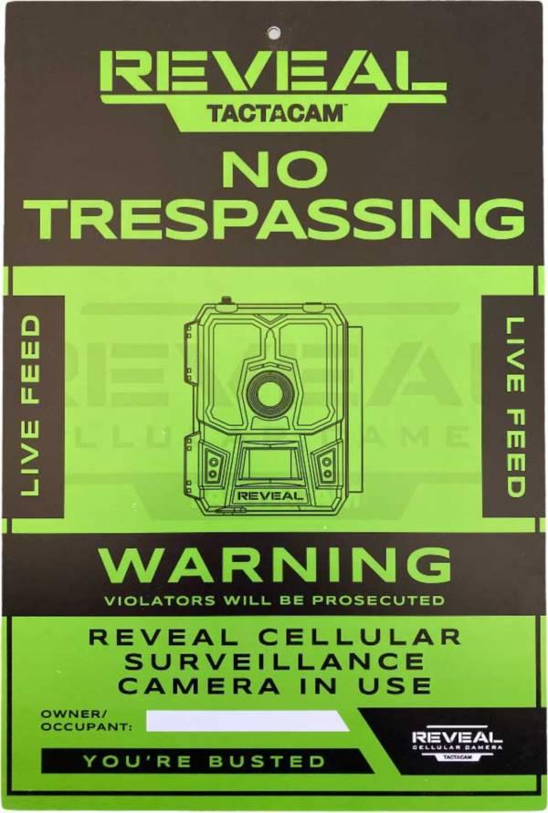 Tactacam No Trespassing Sign – 3 Pack product image