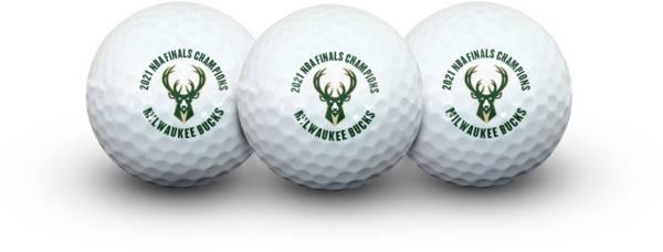 Team Effort Milwaukee Bucks Champions Golf Balls – 3 Pack product image