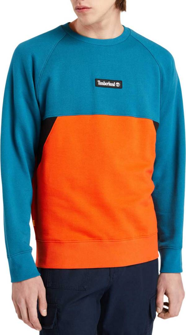 Timberland Men's Cut & Sew Crewneck Sweatshirt product image