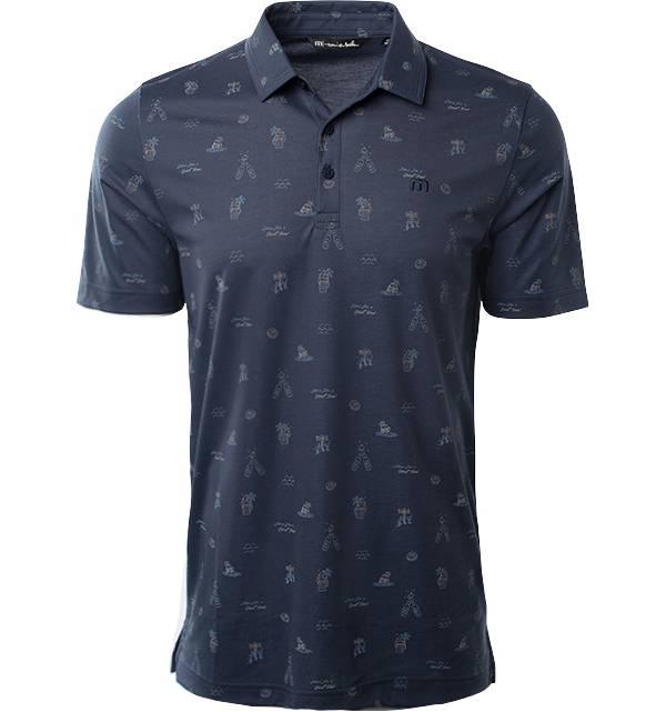 TravisMathew Men's Dress To Impress Short Sleeve Golf Polo product image