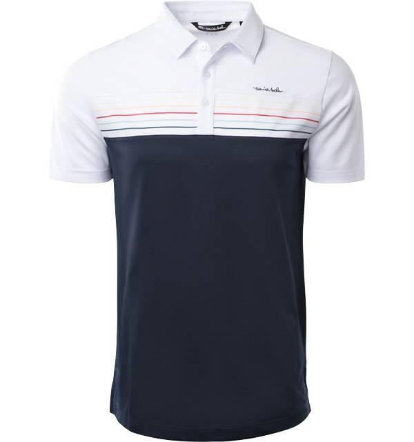 TravisMathew Men's Finally Friday Short Sleeve Golf Polo product image
